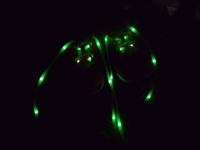 These light up laces ROCK!