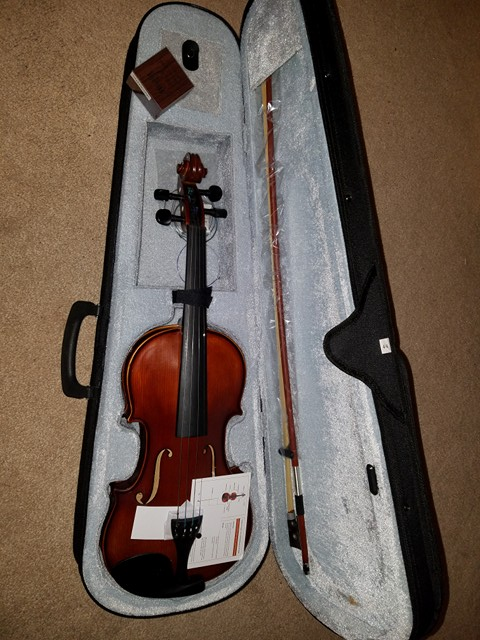 I love my new Violin