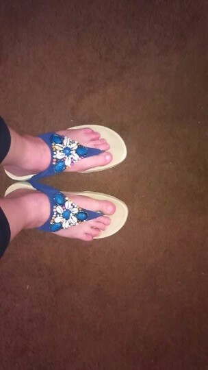Really Pretty Flip Flops