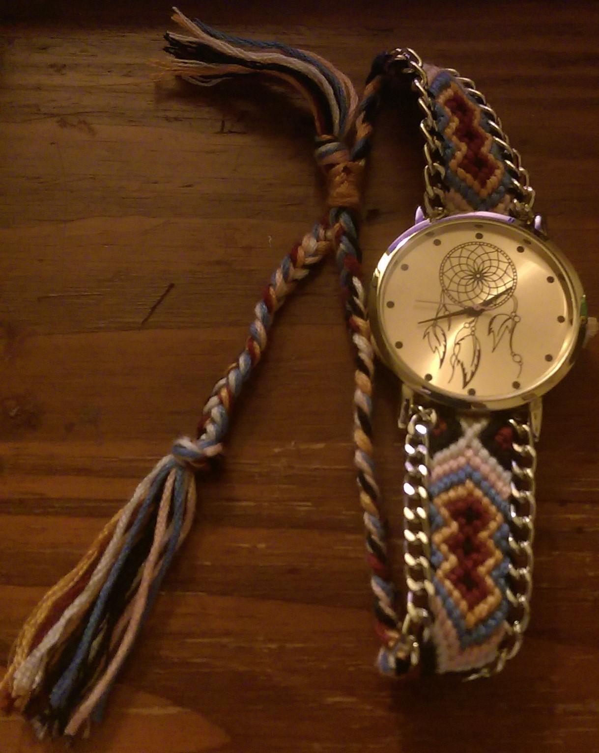 Une somptueuse montre et vintage
