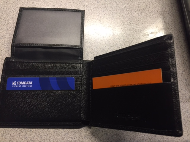 Nice leather wallet